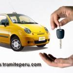 Modelo de Contrato de Alquiler de Taxi