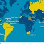 Paises que no piden Visa a Peruanos