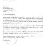 Carta de Invitación de extranjero a Perú